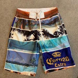 Corona extra board shorts